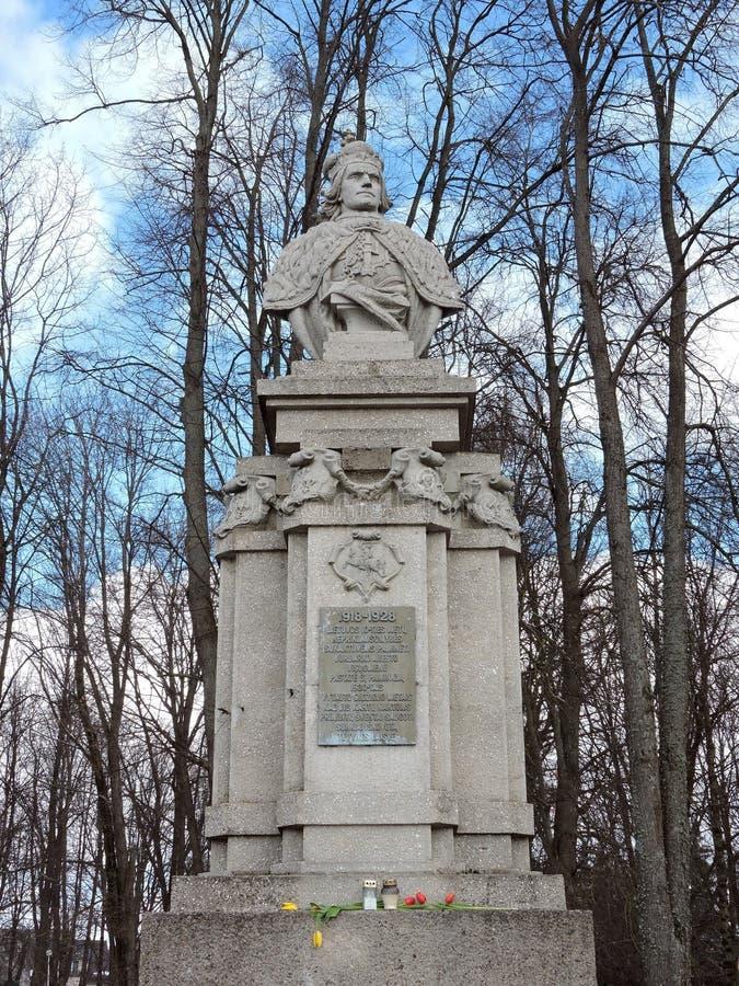 Vytautas wielki zabytek, Lithuania fotografia royalty free