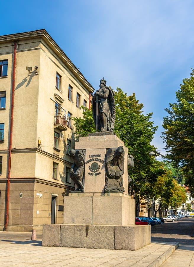 Vytautas Wielki zabytek w Kaunas fotografia royalty free