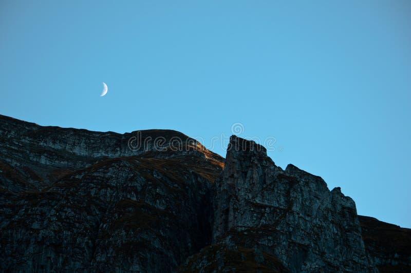 Wächter-Mond stockbild