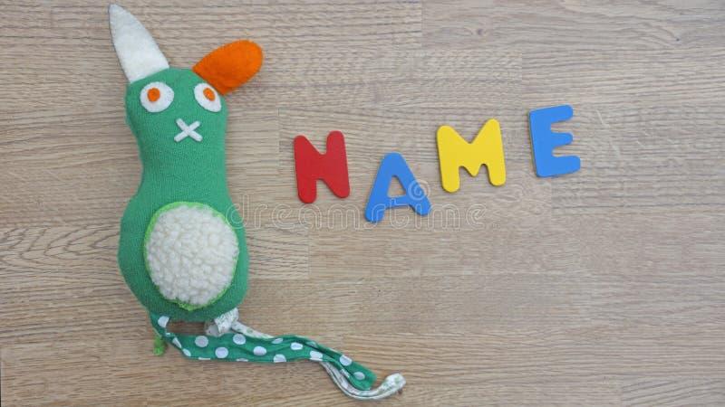 Wählen des Babynamens lizenzfreie stockfotografie