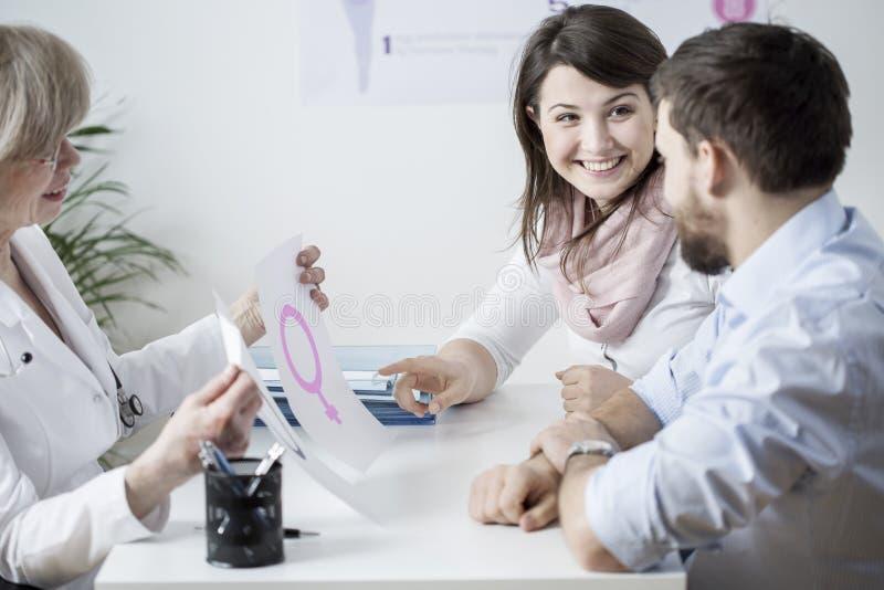 Wählen des Sexs lizenzfreies stockfoto