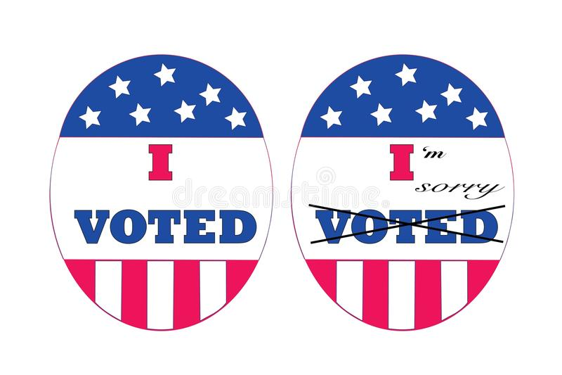 Wählerreue lizenzfreies stockbild