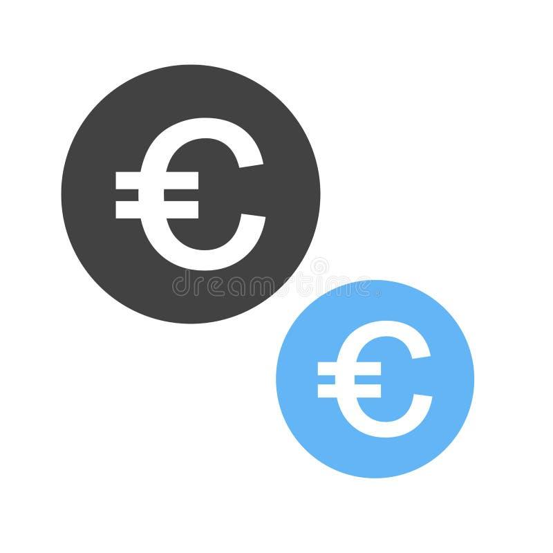 Währung, Euro, Pfund, lizenzfreie abbildung