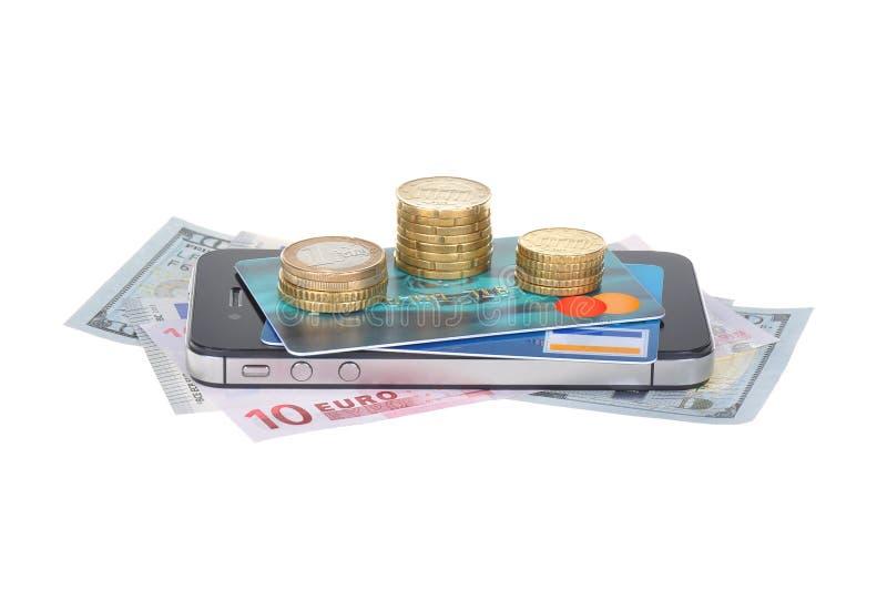 Währung und Geschäft lizenzfreie stockbilder