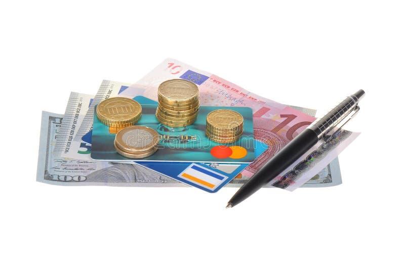 Währung und Geschäft lizenzfreies stockfoto