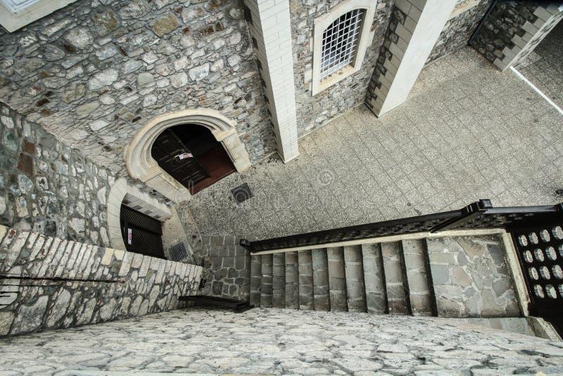 Wände des alten Klosters lizenzfreie stockbilder