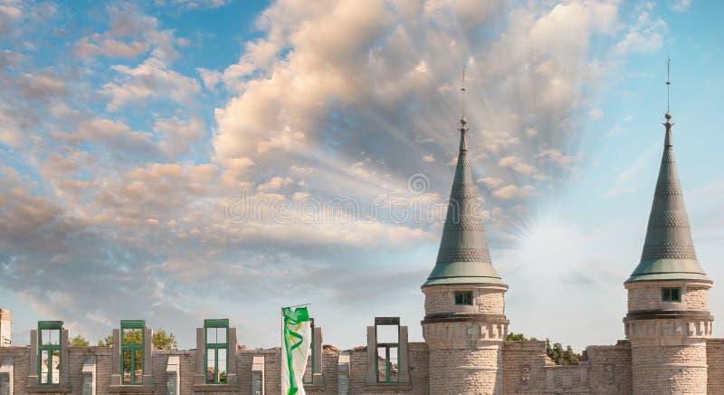 Wände von Québec-Stadt, Kanada stockfotografie