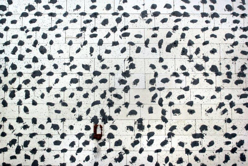 Wärmedämmungsplatten auf einer Wand Abstrakter Aufbauhintergrund lizenzfreies stockfoto