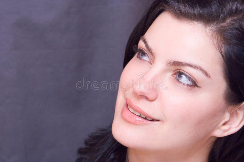 Wärmen Sie Lächeln stockfotos