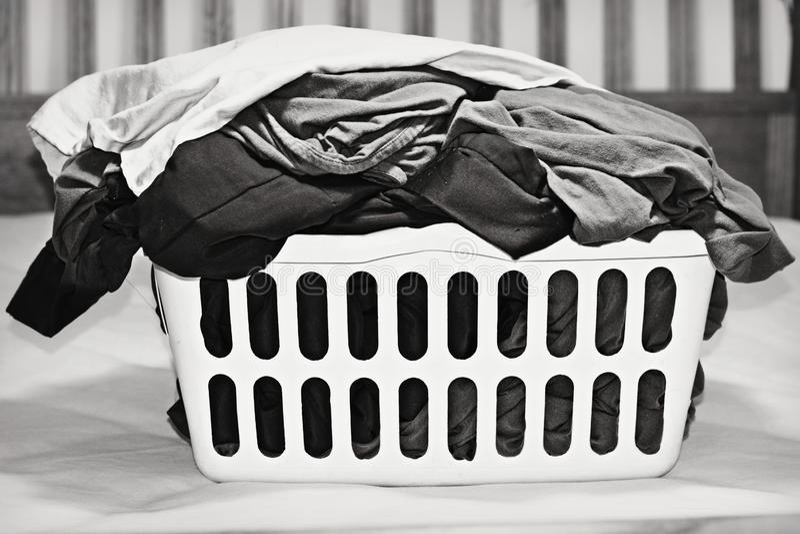 Wäschekorb stockfoto