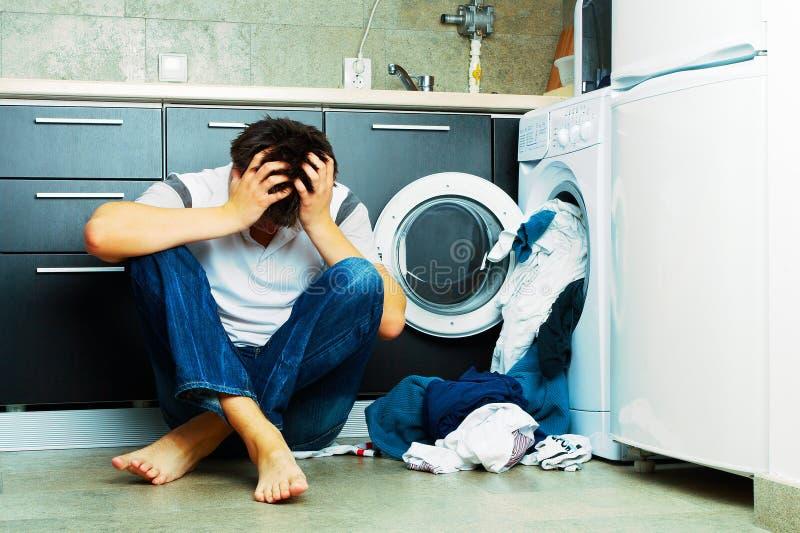 Wäscherei stockfotografie