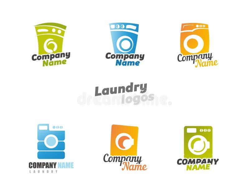 wäscherei lizenzfreie abbildung