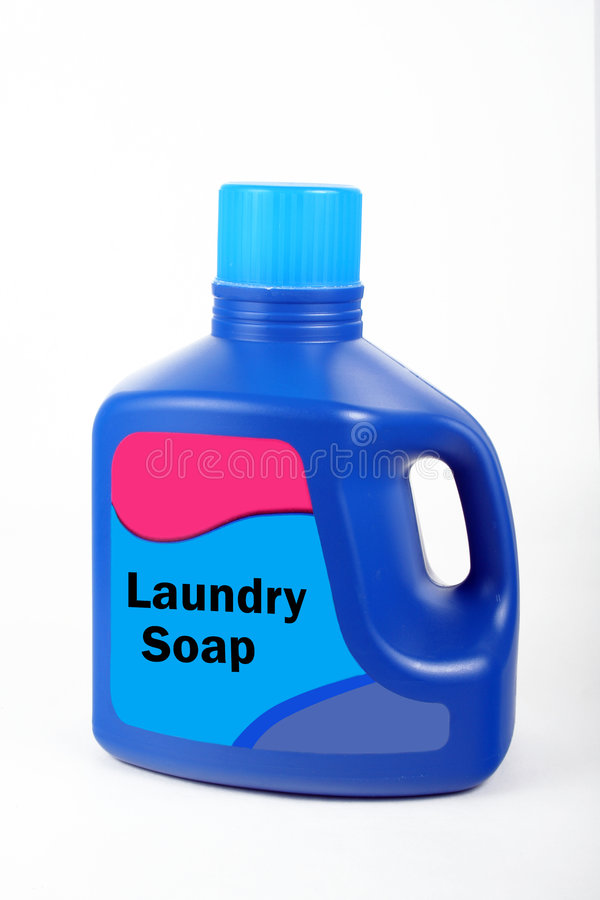 Wäscherei-Reinigungsmittel stockbilder