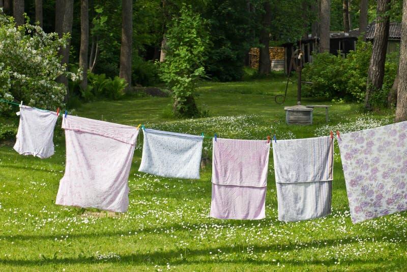 Wäscherei-Tag stockbilder