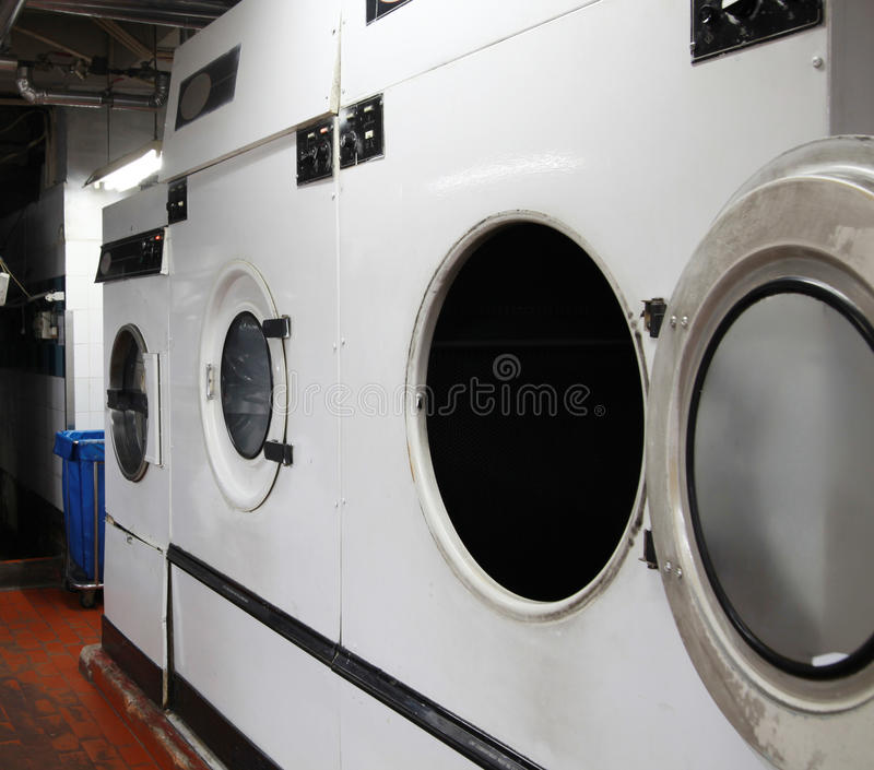 Wäschereiindustrie lizenzfreies stockbild
