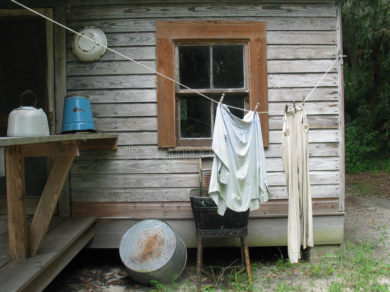 Download Wäschetag stockbild. Bild von schrubben, historisch, wäsche - 15771