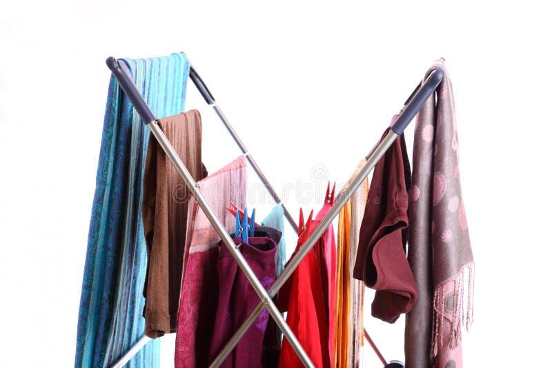 Wäschetrockner getrennt auf Weiß lizenzfreies stockbild