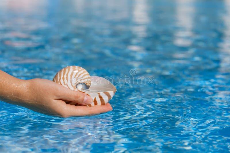 Wässern Sie für das Leben oder das Leben für Wasser. lizenzfreies stockfoto