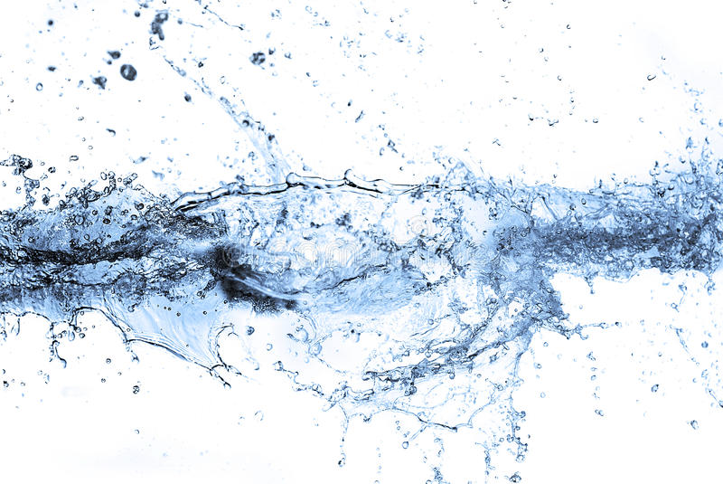 Download Wässern Sie Spritzen stockfoto. Bild von fallen, spray - 26372942