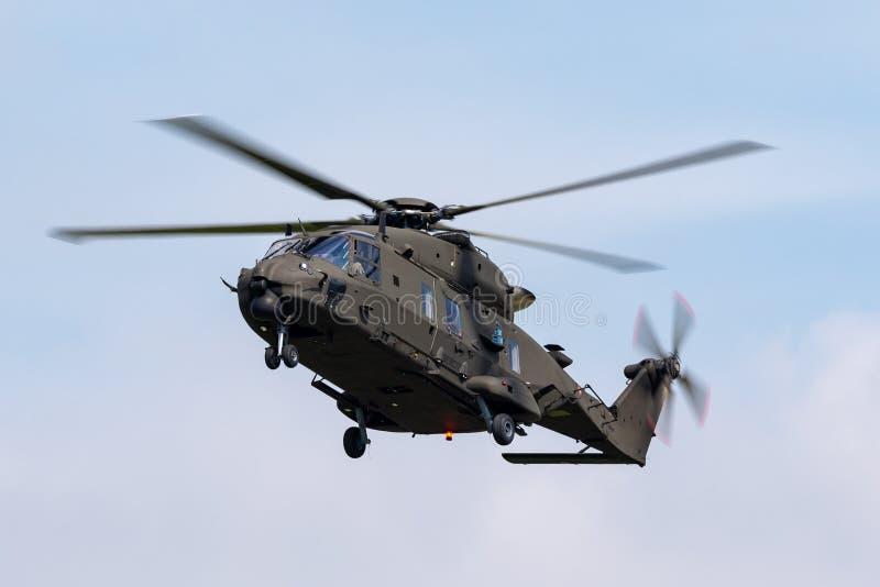 Włoski wojska Esercito Italiano NHI NH-90 multirole militarny helikopter MM81544 zdjęcie royalty free