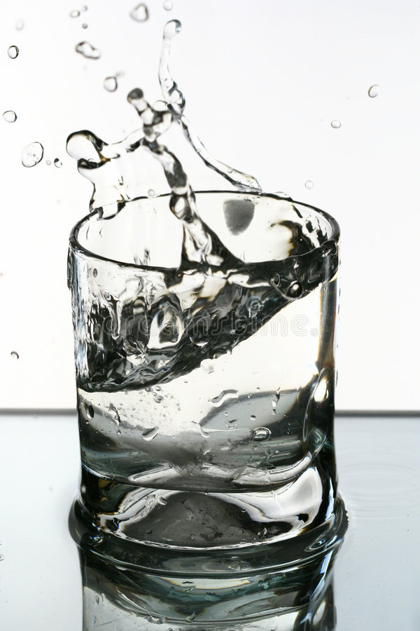 wódka ' last splash ' fotografia stock