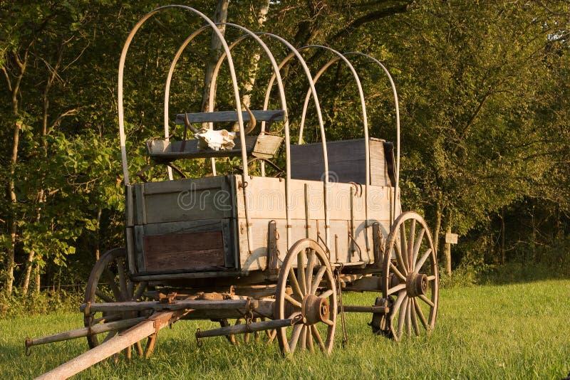 wóz drewna fotografia stock