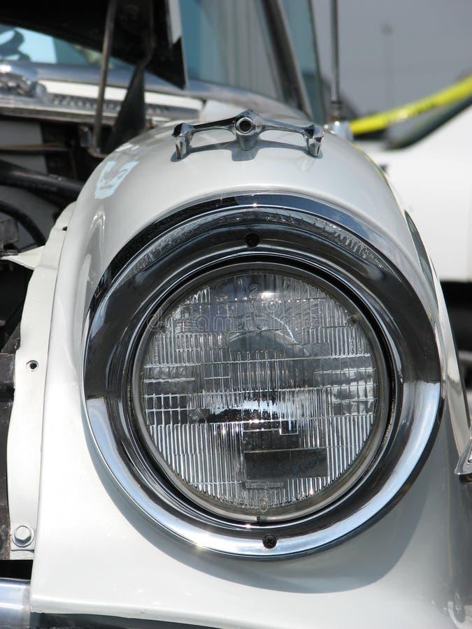 wóz z antykami reflektor zdjęcia stock