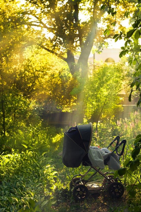 wózek dziecięcy obraz royalty free