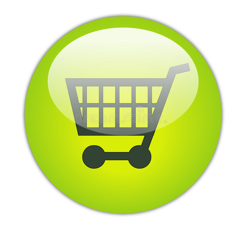 wózek na zakupy ilustracji