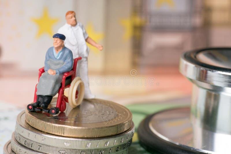 Wózka inwalidzkiego użytkownik zdjęcia stock