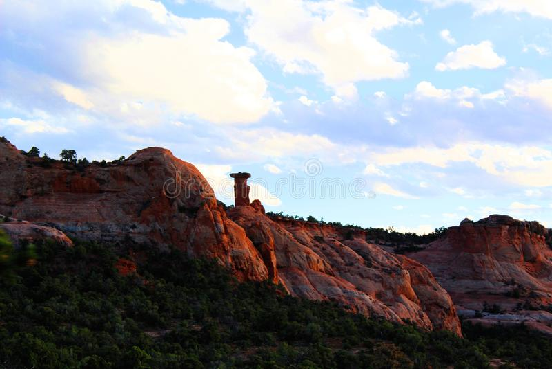 Wölbt Felsentäuschungen Nationalpark-Moabs Utah stockfoto
