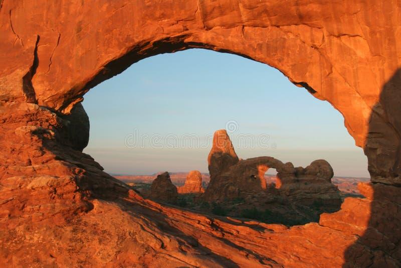 Wölbt Nationalpark lizenzfreie stockfotografie