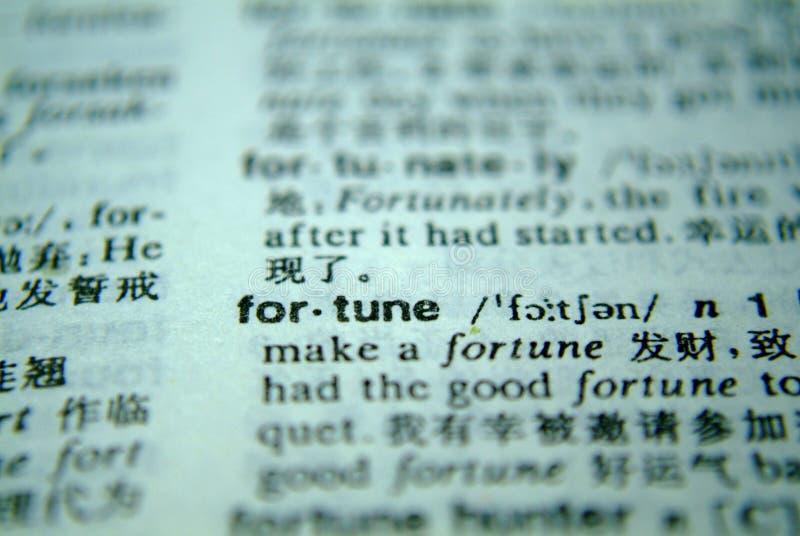 Wörterbuchvermögen lizenzfreies stockbild