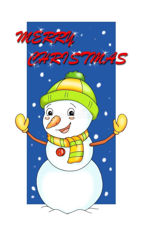 Wünsche von Weihnachten lizenzfreie abbildung