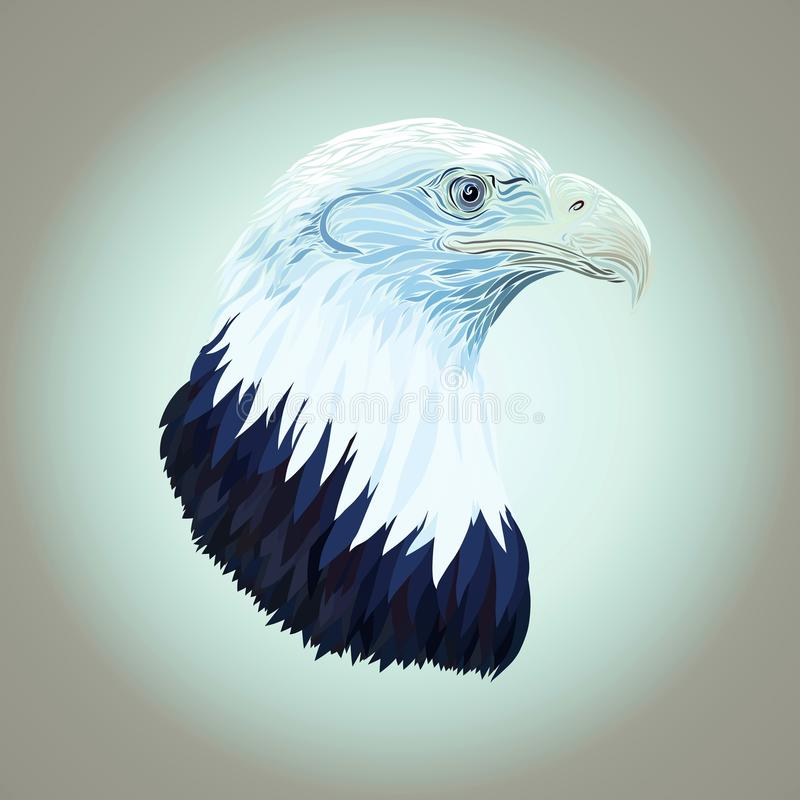 Würdevolles großes Eagle stock abbildung