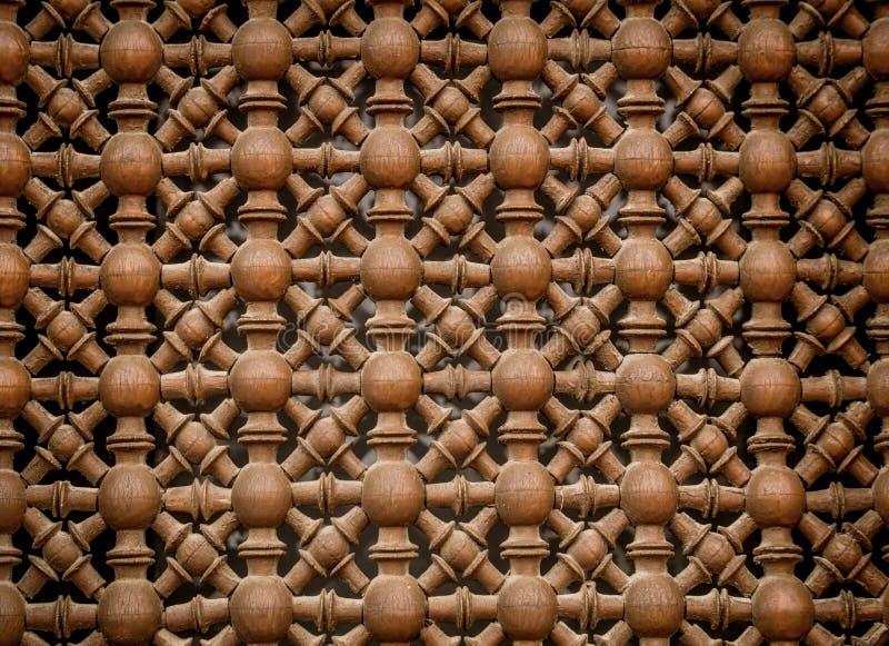 Würdevolles Holzschnitzen stockfoto