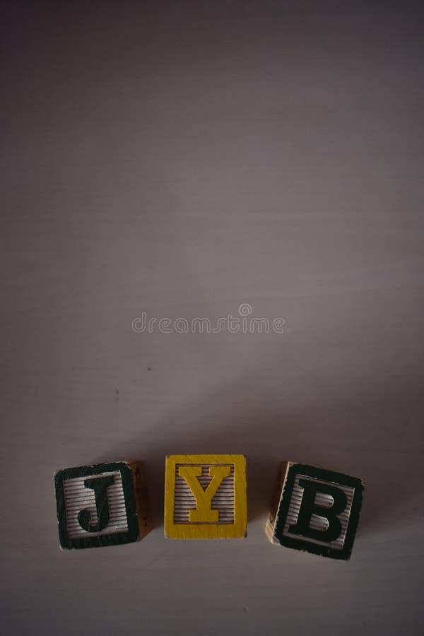 Würfel von Buchstaben lizenzfreie stockbilder
