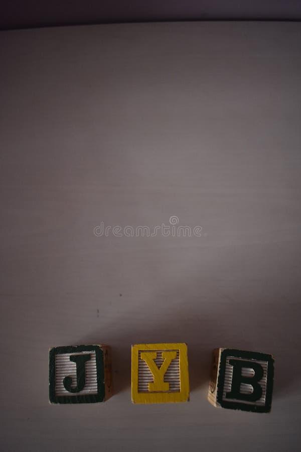 Würfel von Buchstaben lizenzfreies stockbild