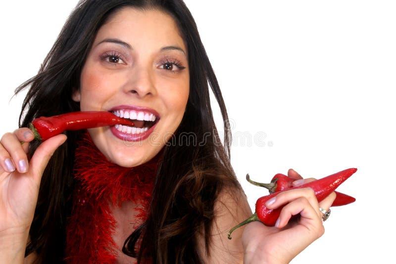 Würzige Latina-Dame stockfoto