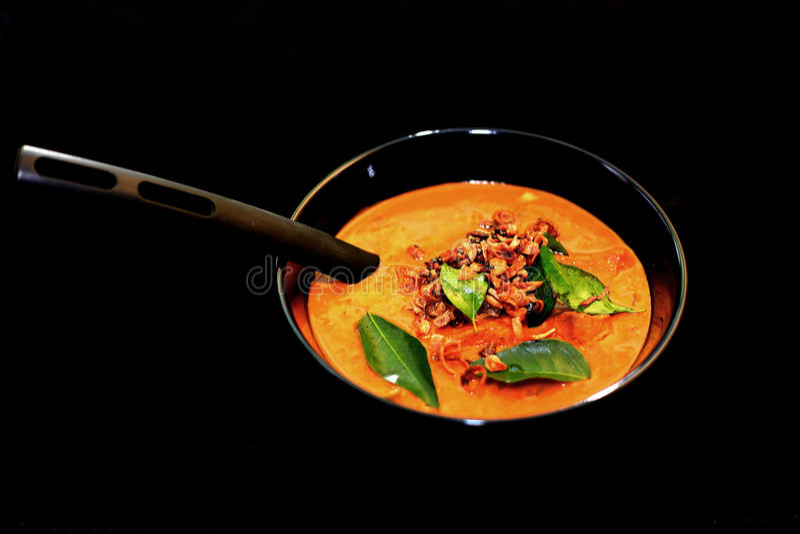 Würziger Kerala-Fisch-Curry lizenzfreie stockfotografie