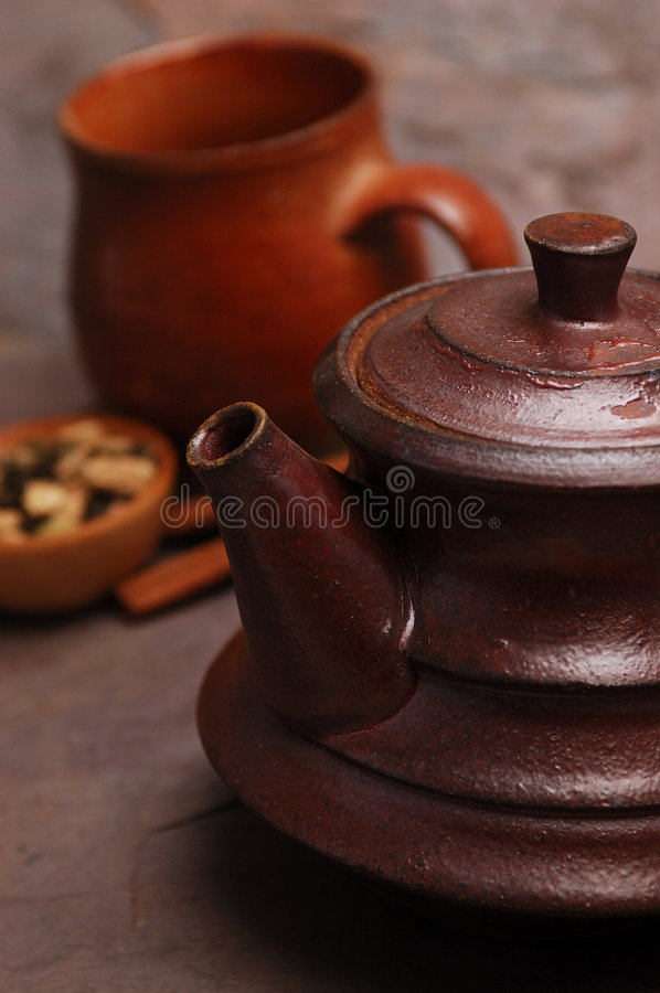 Würziger Tee stockfotografie
