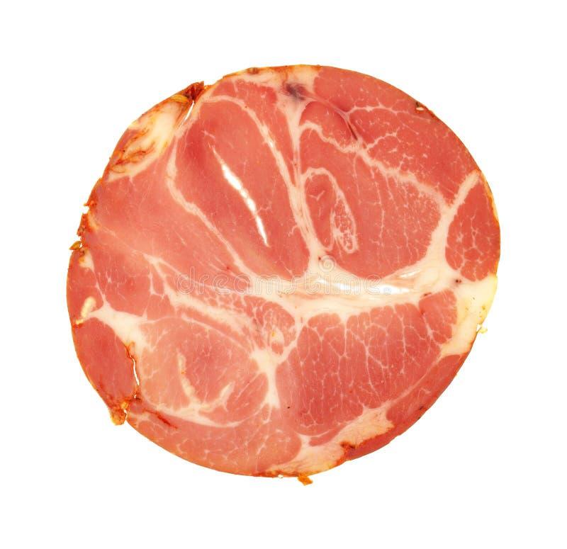 Würziges capicola Luncheon Meat stockbild