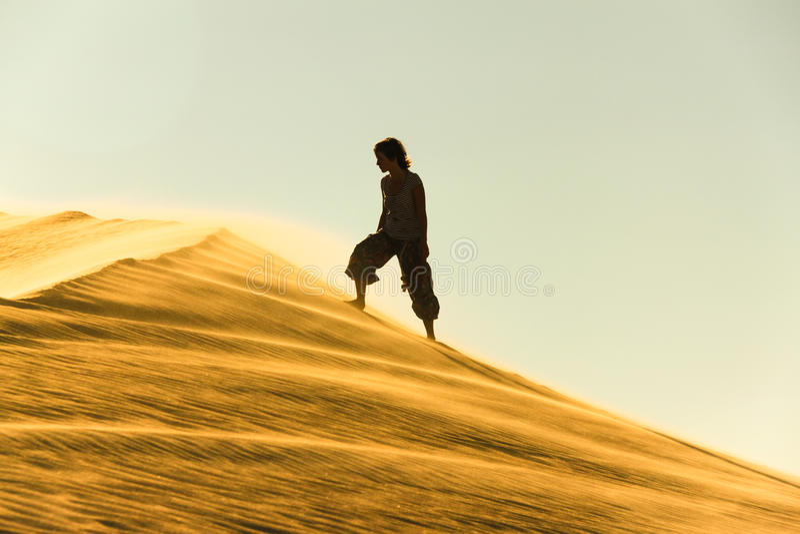 Download Wüste stockfoto. Bild von frau, tourismus, gelb, orient - 26363800