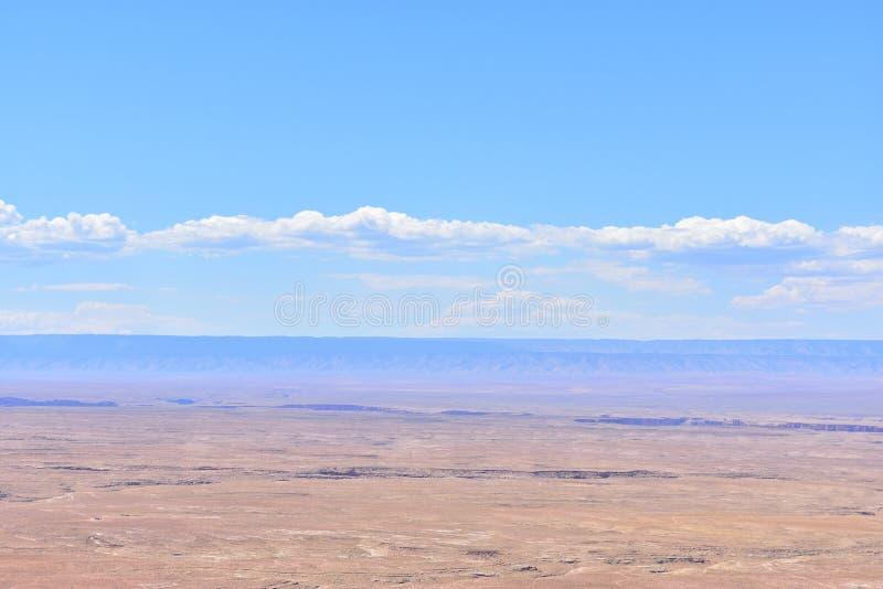 Wüste in Arizona stockbild