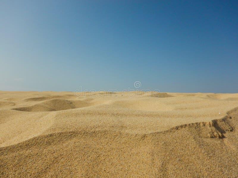 Wüste der Boa Vista, Kap-Verde lizenzfreies stockfoto