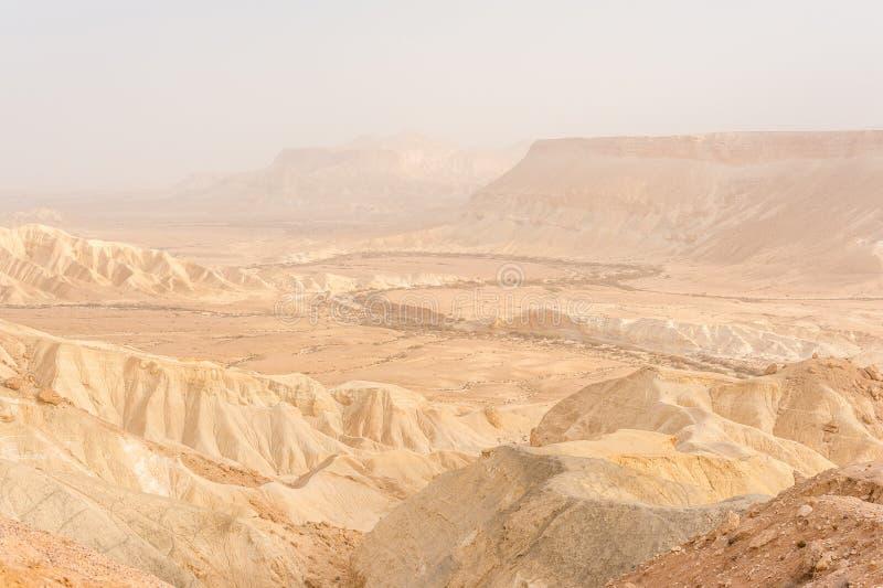 Wüste Negev lizenzfreie stockfotografie