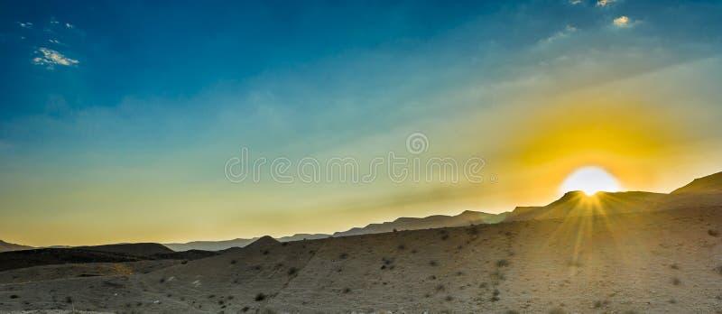 Wüste Negev stockfoto