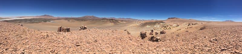 Wüste von atacama lizenzfreie stockfotos