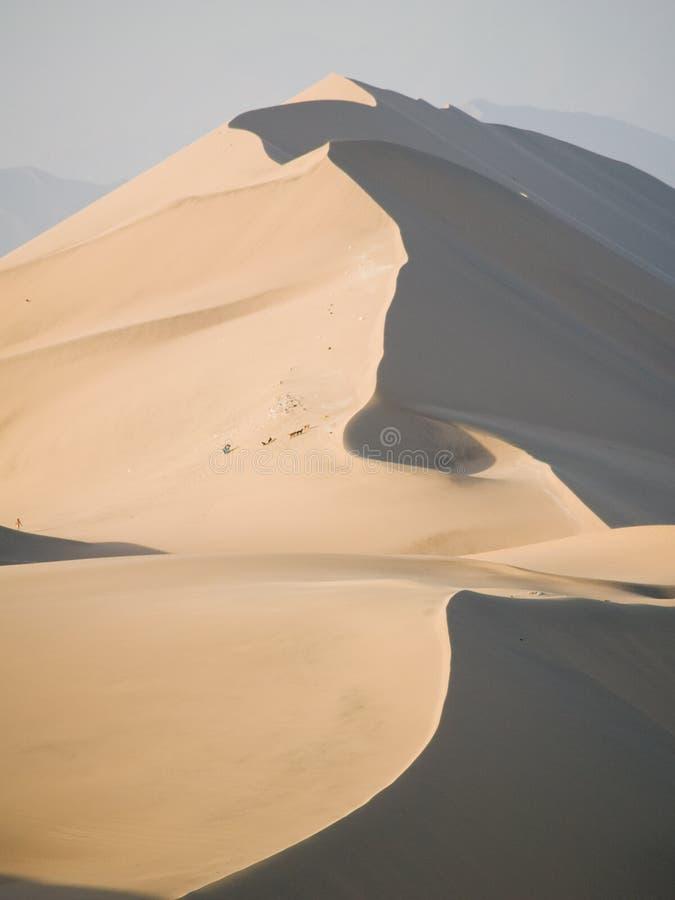 Wüste von Ica, Peru stockfotografie