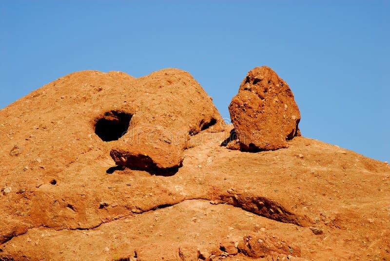 Wüsten-Felsen lizenzfreies stockbild